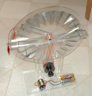 ウイムスハースト静電発電機