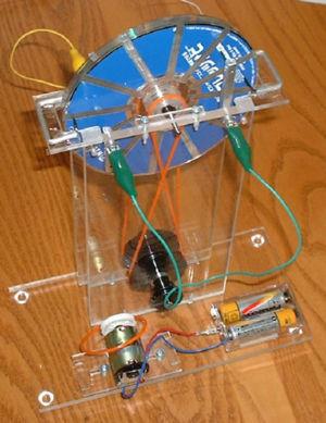 ウイムスハースト静電発電機 中間完成1